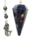 Iolite & Mermaid Pendulum