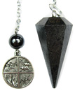 Hematite Four Elements Pendulum