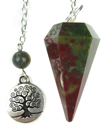 Fancy Jasper Tree of Life Charm Pendulum
