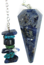 5th Chakra (Throat) Pendulum - Sodalite