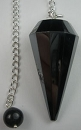 Hematite Pendulum (Faceted)