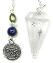 Quartz and Eye of Horus Pendulum
