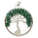 Tree of Life Pendant (Aventurine)