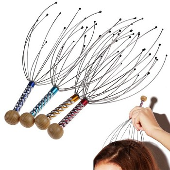 Head Massagers - 12 Pack Assorted