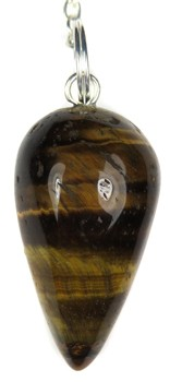 Drop Pendulum (Tiger Eye)