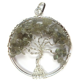 Tree of Life Pendant (Labradorite)