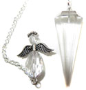 Quartz & Angel Pendulum