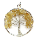 Tree of Life Pendant (Citrine)