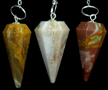 Fancy Jasper Pendulum (Faceted)